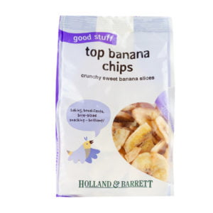 sugar in banana chips